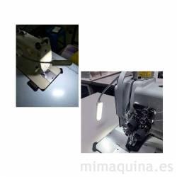 lampara led para facilitar la costura