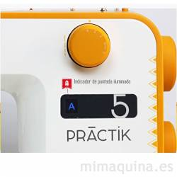 Alfa Practik 5 detalle selector