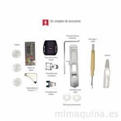 Alfa Practik 5 detalle accesorios
