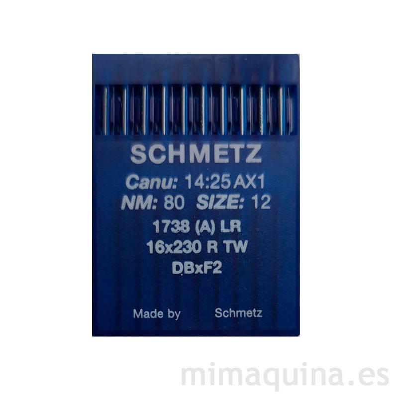 Agujas Schmetz 1738 80 LR