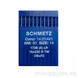 Agujas Schmetz 1738 90 LR