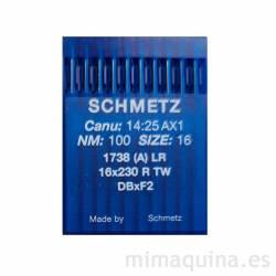 Agujas Schmetz 1738 100 LR