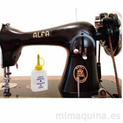 aceite para el engrase de la maquina de coser