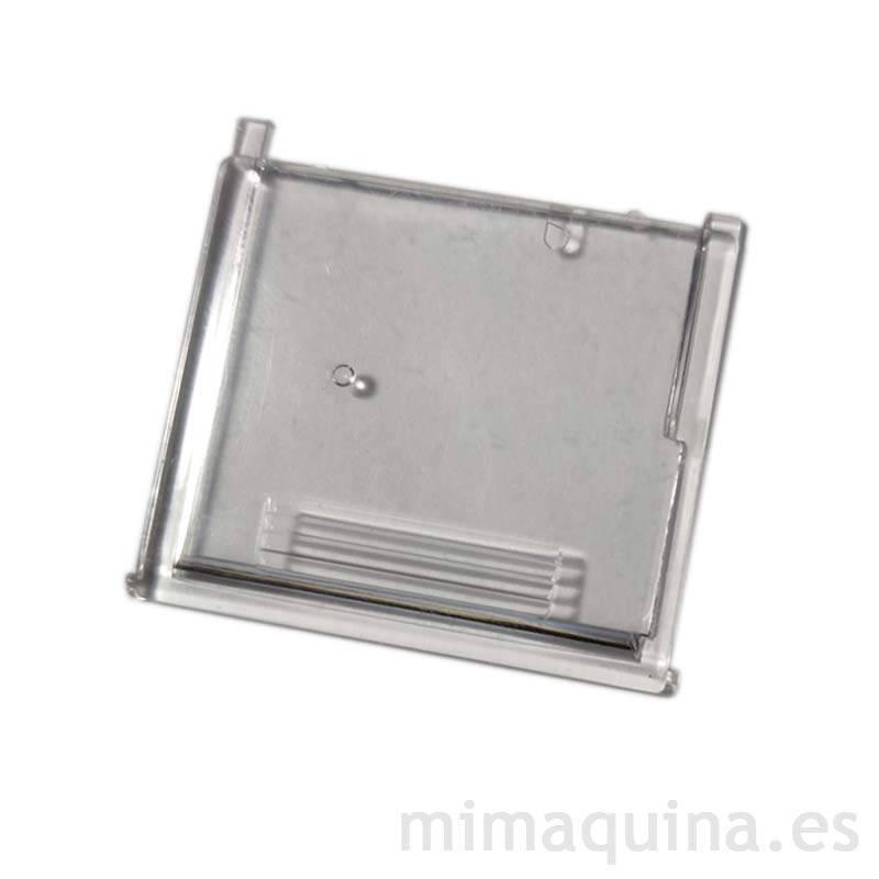 Tapa deslizante para Alfa 654 transparente