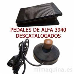 Pedales Alfa 3940 descatalogados