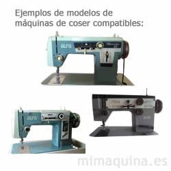 Maquinas de coser Alfa 109 y Alfa 119