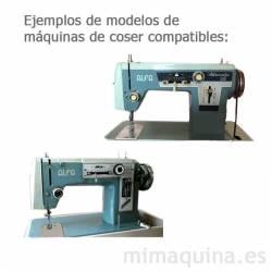 Maquinas de coser Alfa 109, 102