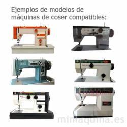 Maquinas de coser Alfa 3940, Alfa 1680, Alfa Wold, Alfa 119, Alfa 109