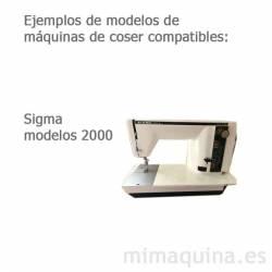 Maquinas de coser Sigma 2000