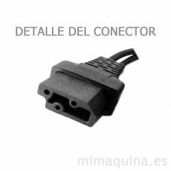 Detalle del conector del pedal Lervia